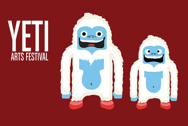 Yeti Arts Festival Branding