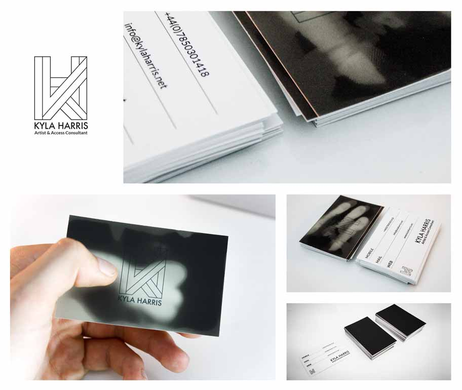 Thermochromatic Business Cards, Alexander Neumann