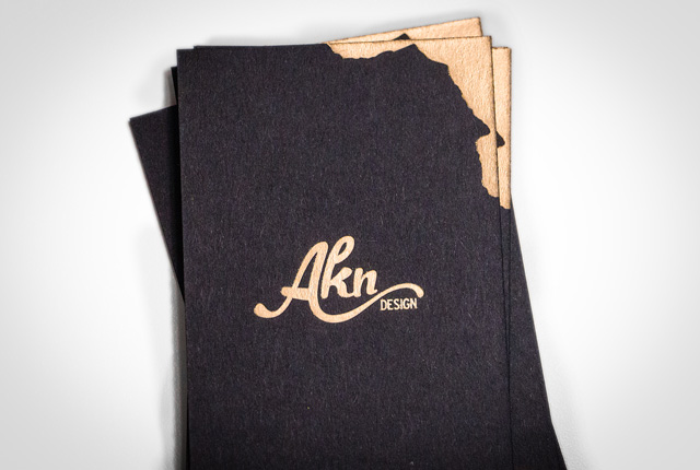 aknDesign Business Cards